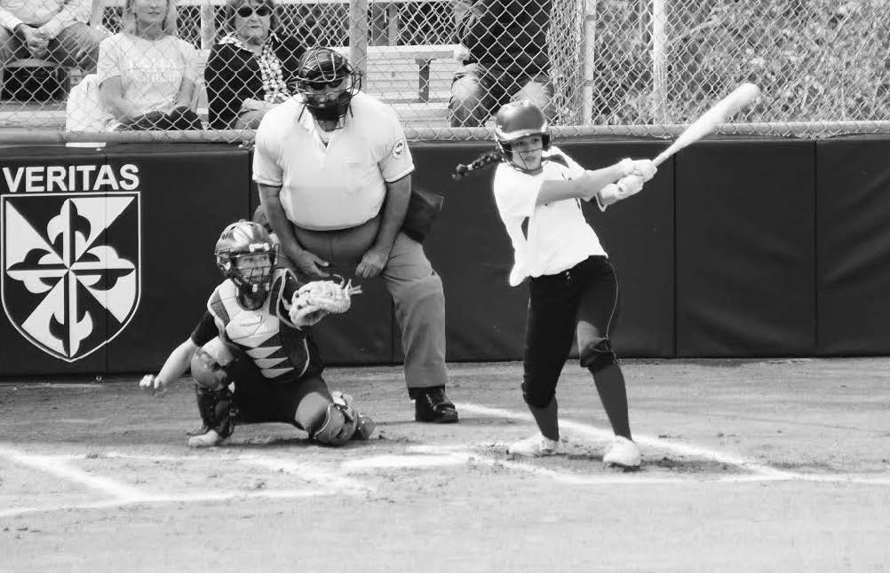 """GRIP IT AND RIP IT Amanda """"#1 softBaller"""" Ramirez '19 helps the Tologs win the Sunshine League for the first time since 1988."""