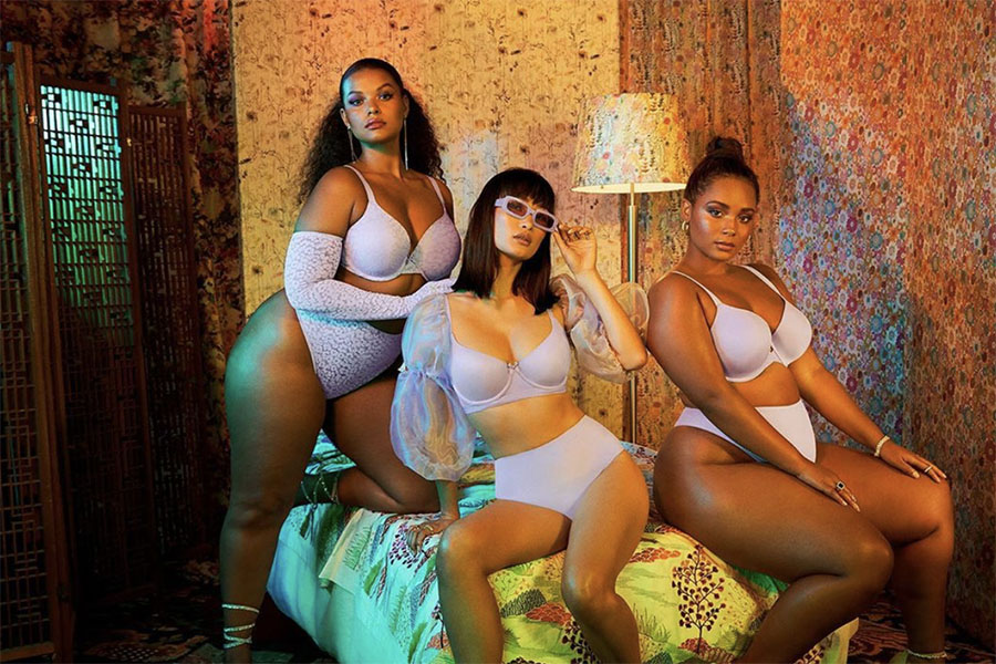 Savage+X+Fenty%2C+Rihanna%27s+lingerie+line%2C+is+known+for+hiring+models+of+all+shapes+and+sizes.