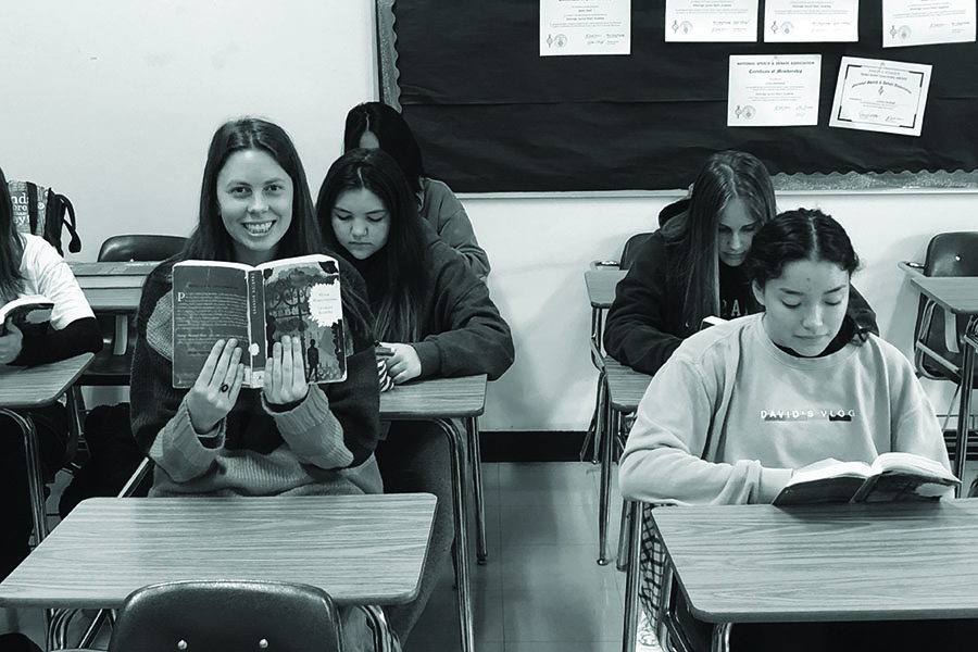 The author sits in on Mr. Dibblee's English I class to relive her memories of Charles Dickens' masterpiece.