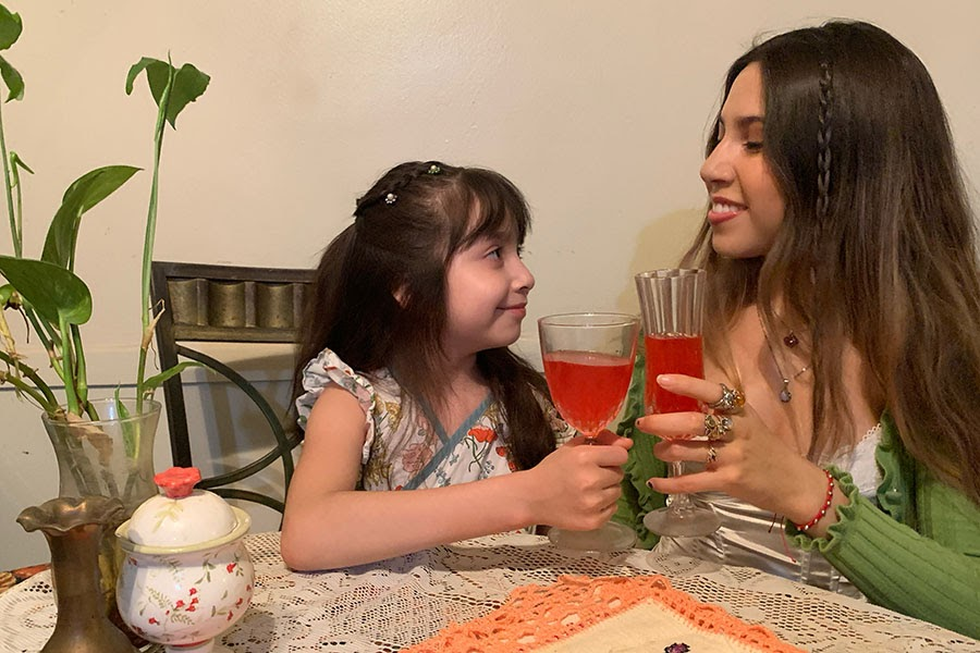 To entertain her sister, Dulce -- and to maintain her sanity during quarantine -- Angelina Arevalos '21 turned her kitchen at home into a world-class Italian restaurant.