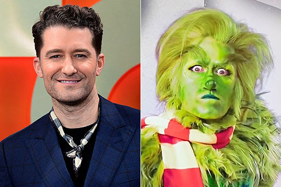 "If you want to ruin Christmas for your family, tune in to NBC tonight to watch Matthew Morrison twirl across the stage in ""Dr. Seuss' The Grinch Musical."""