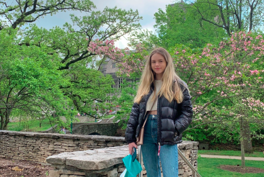 Back in April, Gabi Miller '21 visited Indiana University in Bloomington, Indiana.